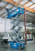 Where to rent Scissor Lift, 26  tall x 32  wide in Bowling Green FL